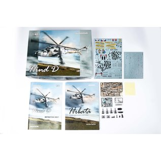 "Eduard Mil Mi-24D ""Hind D"" - Limited Edition - 1:48"