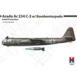 Hobby 2000 Hobby 2000 - Arado Ar 234C-3 w/Bombentorpedo (Initial Production) - 1:72