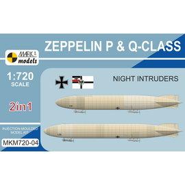 "Mark I. Mark I. - Zeppelin P & Q-class ""Night Intruders"" - 1:720"