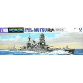 Aoshima Aoshima - jap. Schlachtschiff Mutsu - Waterline No. 116 - 1:700