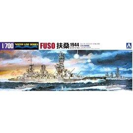 Aoshima Aoshima - jap. Schlachtschiff Fuso (1944) - Waterline No. 125 - 1:700