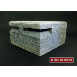 Plusmodel Plusmodel - Patrol Shelter / Beobachtungs Bunker - 1:35