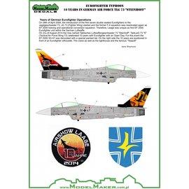 "Modelmaker Decals ModelMaker - Eurofighter Typhoon 10 Years in German Air Force TLG 73 ""Steinhoff"" - 1:72"