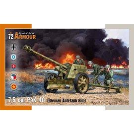 Special Armour Special Armour - 7,5cm PAK 40 German Anti-Tank Gun - 1:72