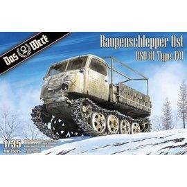 Das Werk Das Werk - Raupenschlepper Ost - German light full-tracked tractor - 1:35