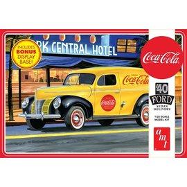 AMT AMT - '40 Ford Sedan Delivery (Coca Cola) 1:25
