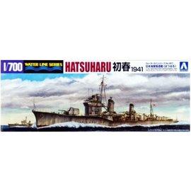 Aoshima Aoshima - jap. Zerstörer Hatsuharu (1941) - Waterline No. 457 - 1:700