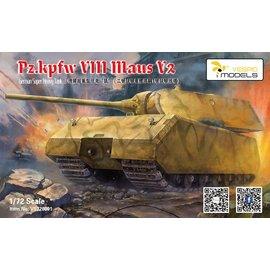 "VESPID Models Vespid Models - Pz.Kpfw. VIII ""Maus"" V2 - German super heavy tank - 1:72"