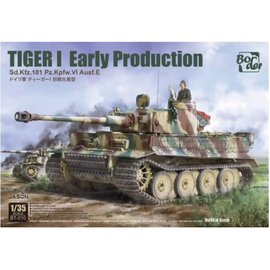 Border Model Border Model - Pz.Kpfw.VI Ausf.E Sd.Kfz.181 Tiger I - 1:35