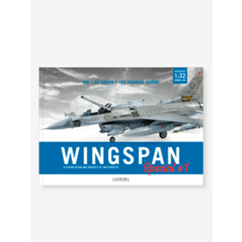 Canfora Publishing CANFORA - Wingspan Special #1 - The TAMIYA F-16C in 1:32