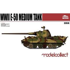Modelcollect Modelcollect - PzKpfw. E-50 German WWII Medium Tank - 1:72
