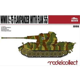 Modelcollect Modelcollect - PzKpfw. E-75 w/FlaK 55 - German WWII AA Tank - 1:72