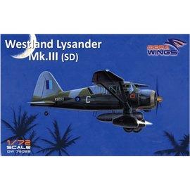 Dora Wings Dora Wings - Westland Lysander Mk.III (SD) - 1:72