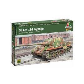 Italeri Italeri - Sd.Kfz. 186 Jagdtiger (Warload-Games-Series) - 1:56