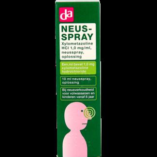 DA + Mooi Fredriek Da Neusspray Xylometazoline 0.1% 10ml