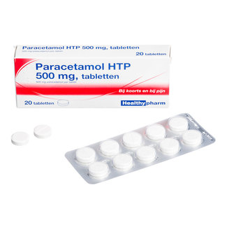 DA + Mooi Fredriek Da Paracetamol 500mg Tabletten 50st