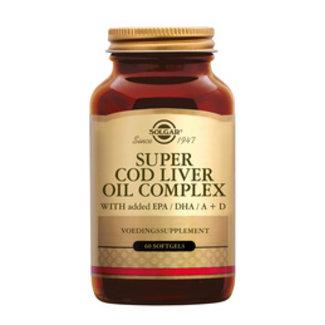 DA + Mooi Fredriek Solgar Vitamins Super Cod Liver oil Comp 60soft