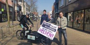 """Ondernemers lanceren """"Online naar Nijverdal"""""""