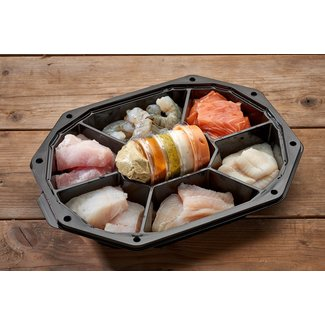 Bal Vismeesters Gourmetschotel