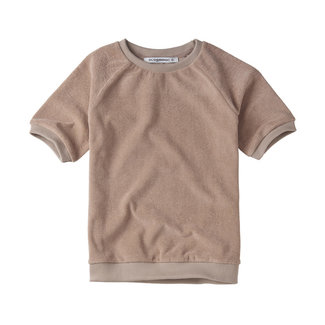 Lily Fashion T-shirt Terry | Fawn