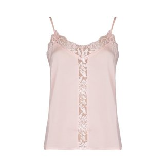 Lily Fashion 1100-001021 LACE SINGLET | pink