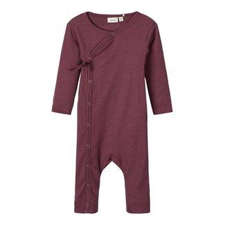 Lily Fashion NBNLUKA LS WRAP SUIT 13176740 | eggplant
