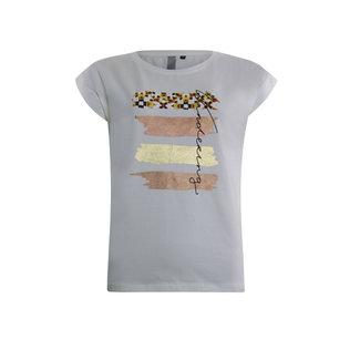 Konijnenbelt Damesmode Poools shirt