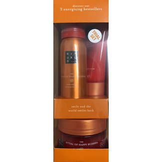 DA + Mooi Fredriek Rituals - the Ritual of Happy Buddha 3 energising bestsellers