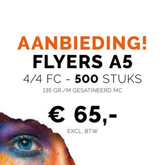 Drukkerij Ponsteen Flyer A5 - 500 stuks