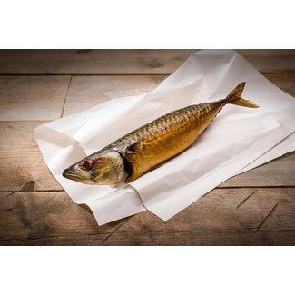 Bal Vismeesters Gestoomde makreel onschoongemaakt