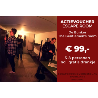 De Wilgenweard Actievoucher Escape Room