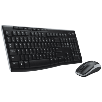 EG Computer Specialisten Logitech draadloze toetsenbord + muis