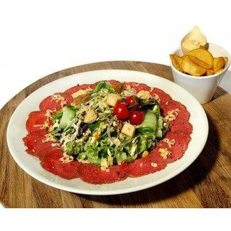 De Budde Carpaccio Salade