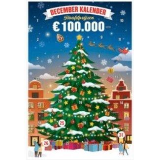 Cigo Spithoff Decemberkalender krasloten