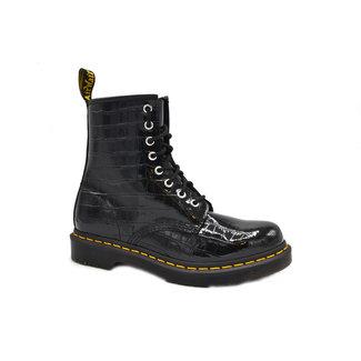 Leferink Schoenen Dr Martens 26262001 Black Patent Croco Emboss