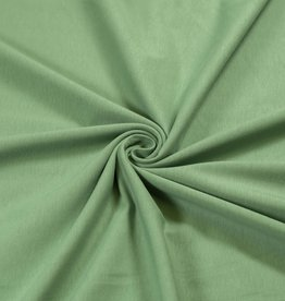 100x150 cm cotton jersey old green