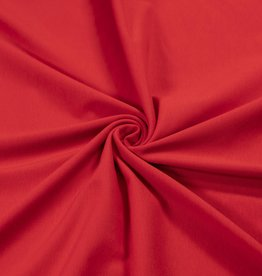 100x150 cm cotton jersey red