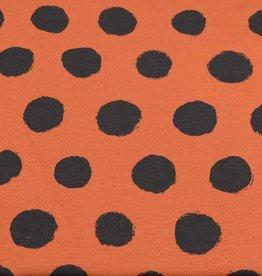 100x150 cm katoen tricot stippen brick