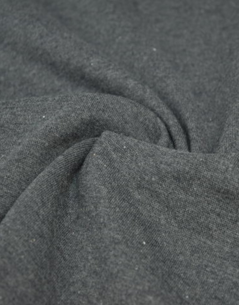 Coupon 50x70 cm boordstof antraciet