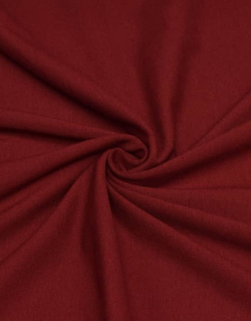 100x150 cm cotton jersey bordeaux