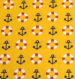 50x140 cm cotton maritime ocher