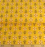 50x140 cm Baumwolle Maritim ocker