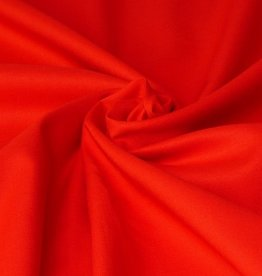 50x140 cm cotton solid red