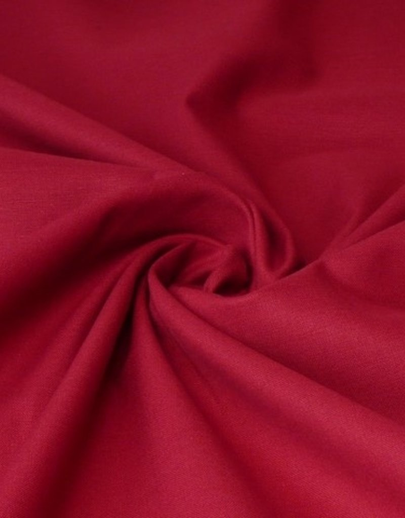 50x140 cm cotton solid wine-red