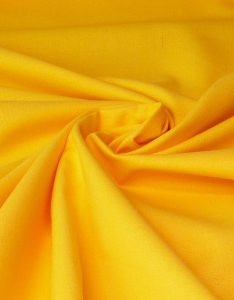 50x140 cm cotton solid yellow