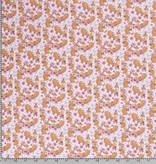 50x150 cm Baumwolljersey Füchse rosa
