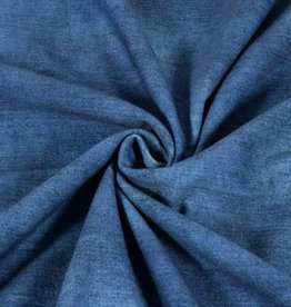 100x150 cm French Terry jeans look navy