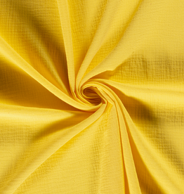 100x130 cm cotton muslin solid yellow