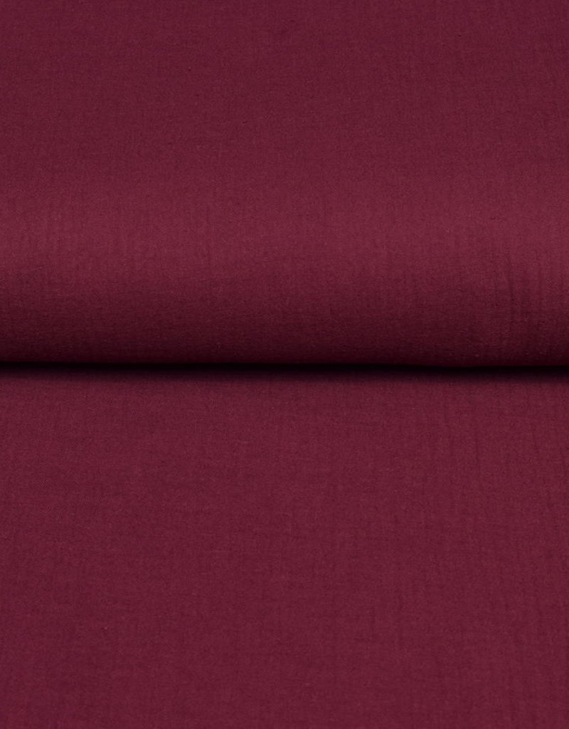 100x130 cm cotton muslin solid wine-red