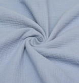 100x130 cm cotton muslin solid light blue